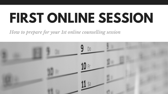 How to prepare for your first online counselling session