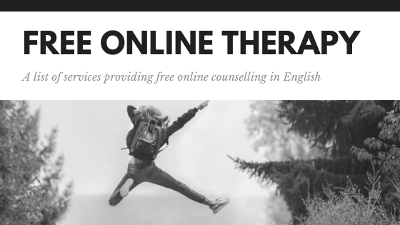Free online therapy - a list of services providing free online counselling in English