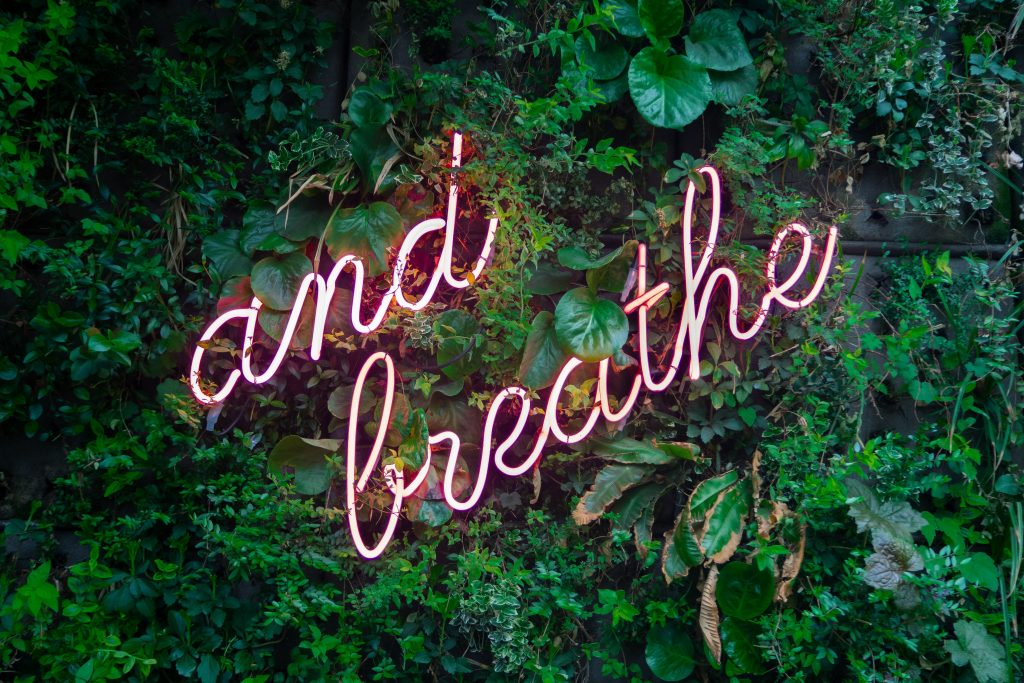 Breathing exercise for when you are feeling stressed